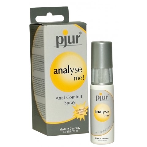 Pjur Analizálj anál síkosító spray (20ml)